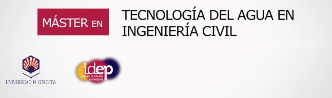 Máster en Tecnología del agua en Ingeniería Civil